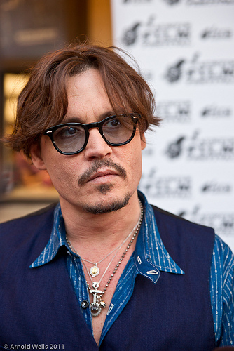 Johnny Depp And His Eccentric Religious Necklaces ... Johnny Depp Looks